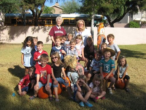 Jarom's Kindergarten Pumpkin Patch 3 - 2008 - small
