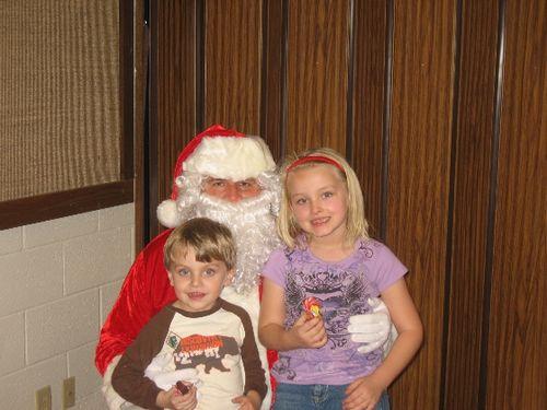 Gabby & David with Santa 08